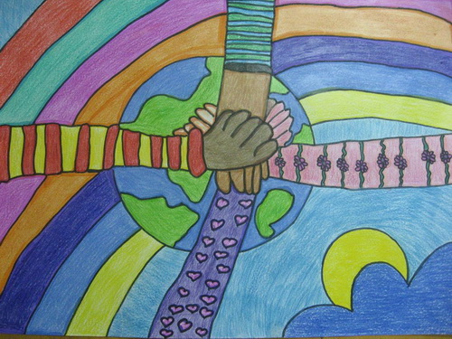 Affiche de la paix - Dessin sur la paix ...