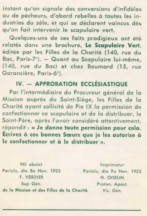 """""""Scapulaire Vert"""" et Scapulaire de Notre-Dame du Mont Carmel Scapulaire04b"""